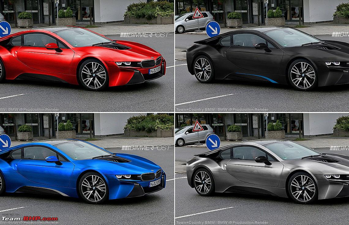 Bmw Confirms Production Of Vision Efficientdynamics I8 Hybrid Sports