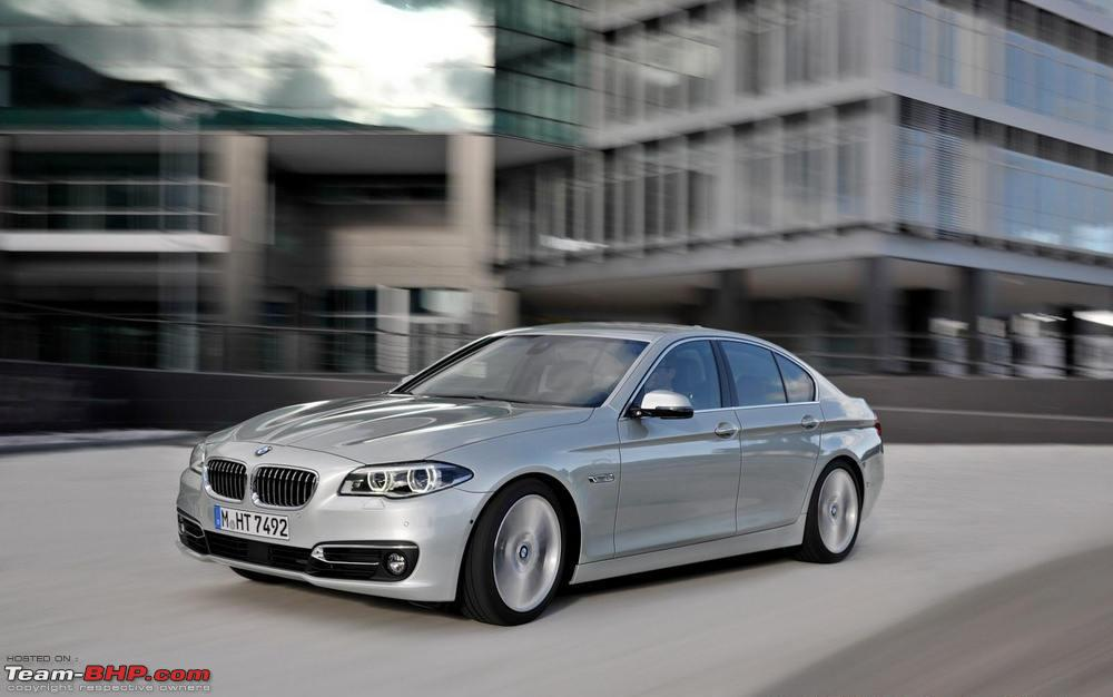 2014 bmw 5 series f10 facelift launched introducing 518d team bhp. Black Bedroom Furniture Sets. Home Design Ideas