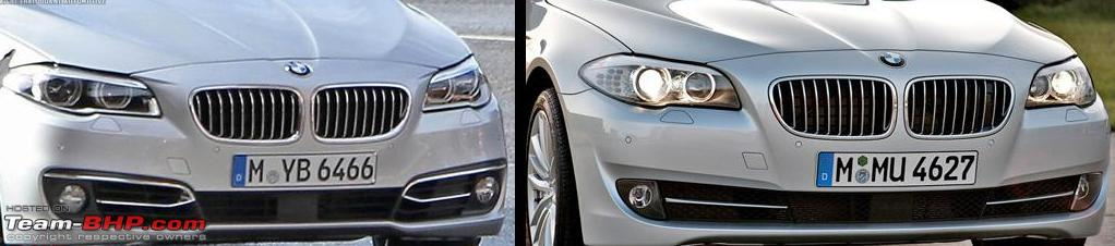 2014 Bmw 5 Series F10 Facelift Launched Introducing 518d