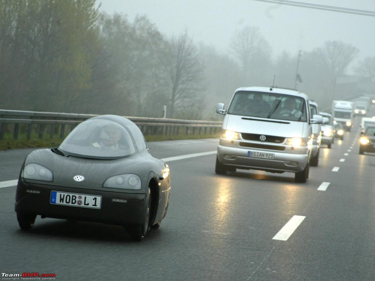 Worlds most fuel efficient car vw 1 liter car mailrediff3