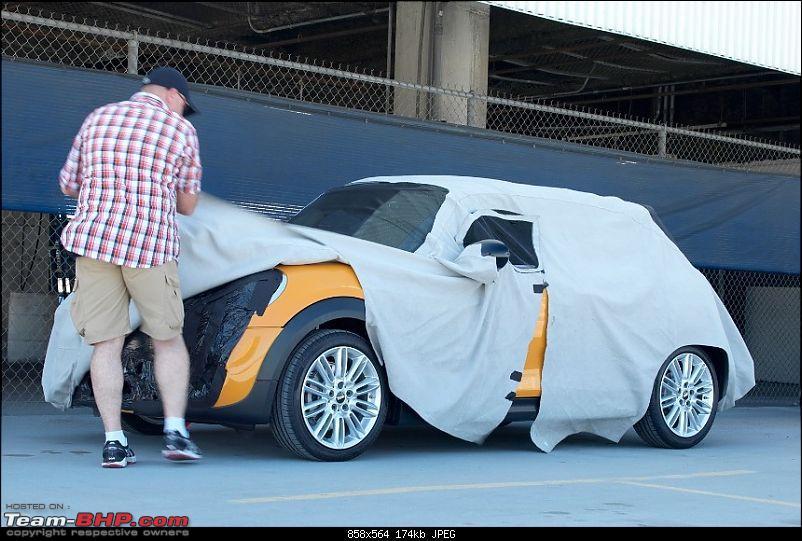SCOOP: 2014 MINI Cooper caught testing! EDIT: Unveiled-mini.jpg