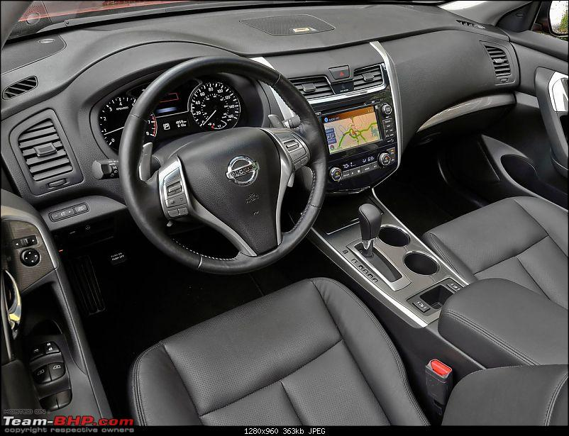Buying, Owning, Driving and Maintaining a car in North America-2013nissanaltimainterior.jpg