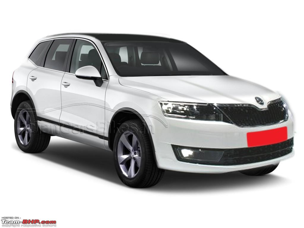 skoda snowman suv rival to audi q3 merc gla vw tiguan coming in 2015 team bhp. Black Bedroom Furniture Sets. Home Design Ideas