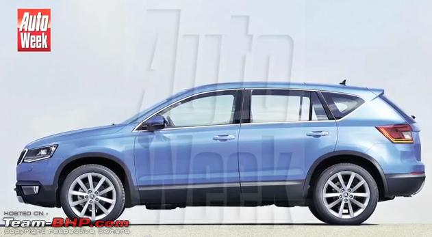 Snowman SUV - Rival to Audi Q3, Merc GLA & VW Tiguan coming in 2015