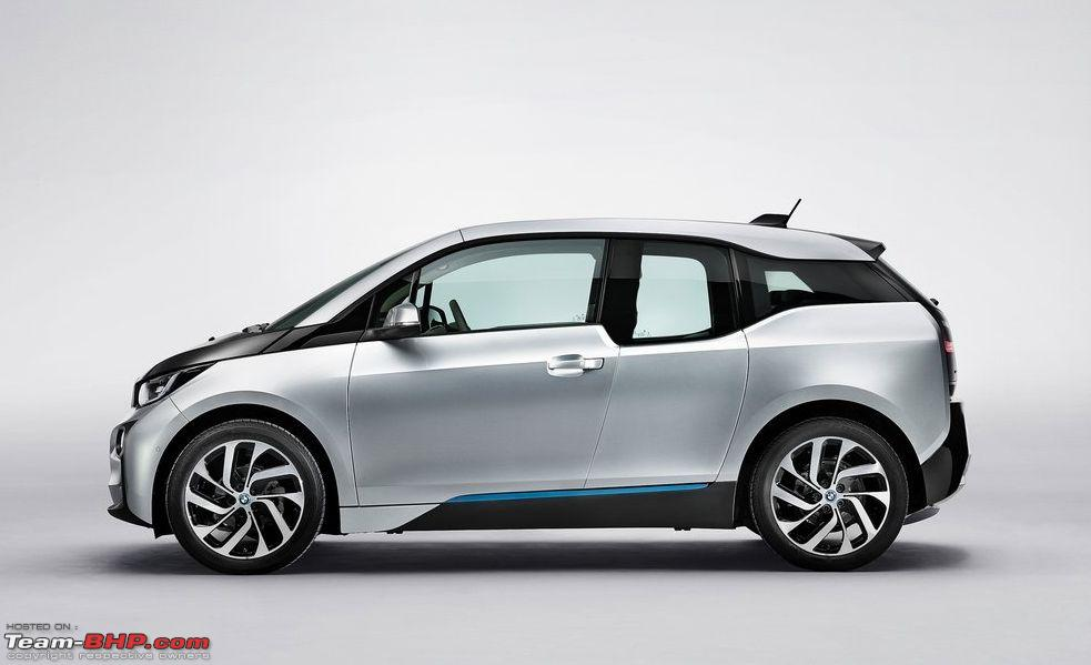 bmw i3 hatch breaks cover production version prices revealed team bhp. Black Bedroom Furniture Sets. Home Design Ideas