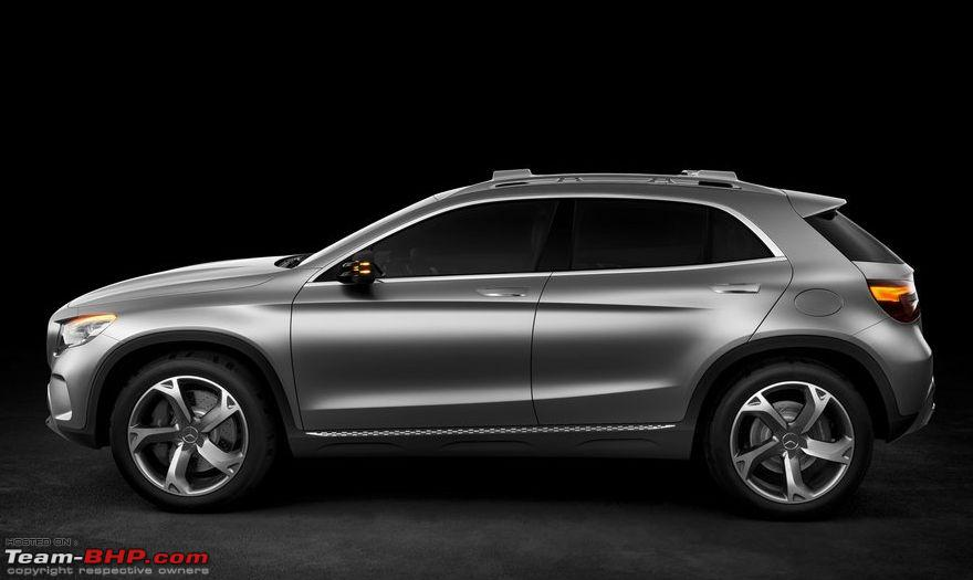 Mercedes benz gla concept page 2 team bhp for Mercedes benz gla crossover