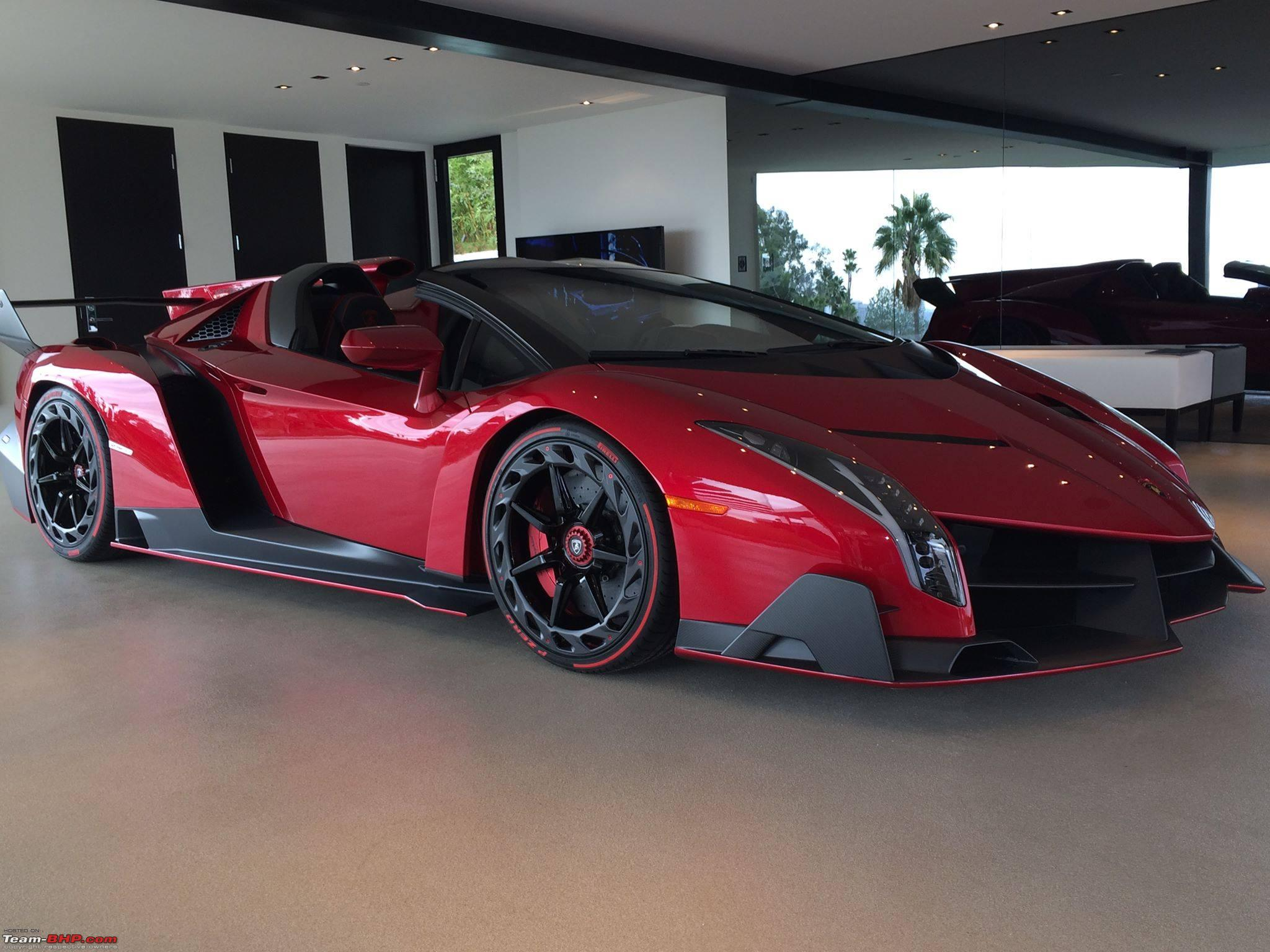 Lamborghini Veneno Roadster For Inr 32 6 Crores Teambhp