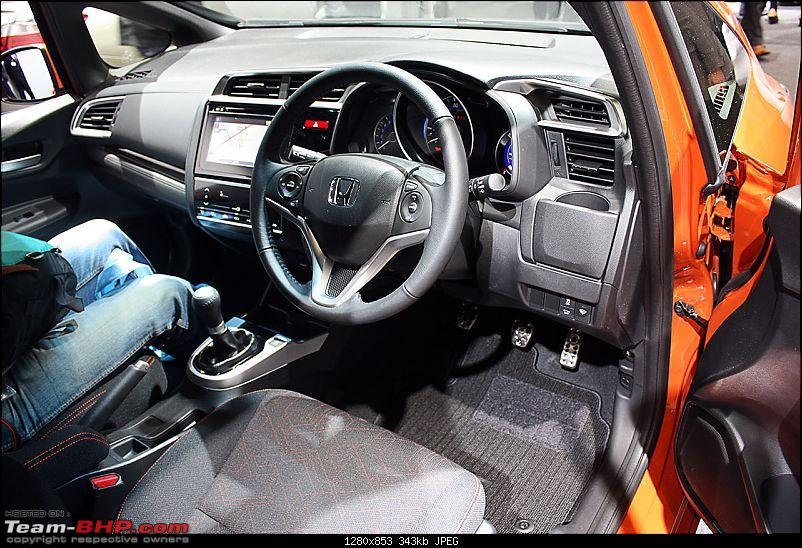 Visiting Honda @ Japan: Mobilio, Jazz, Hybrid Tech & Tokyo Motor Show-jazz-driver-console.jpg