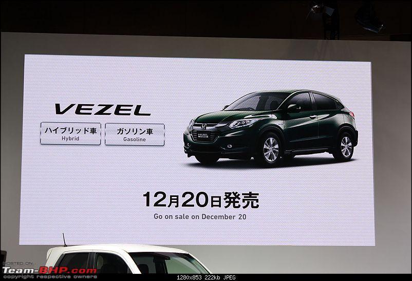Visiting Honda @ Japan: Mobilio, Jazz, Hybrid Tech & Tokyo Motor Show-vezel-launch.jpg