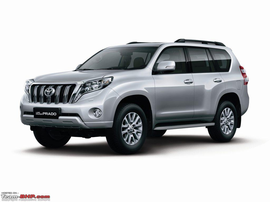 2014 toyota landcruiser prado facelift team bhp. Black Bedroom Furniture Sets. Home Design Ideas