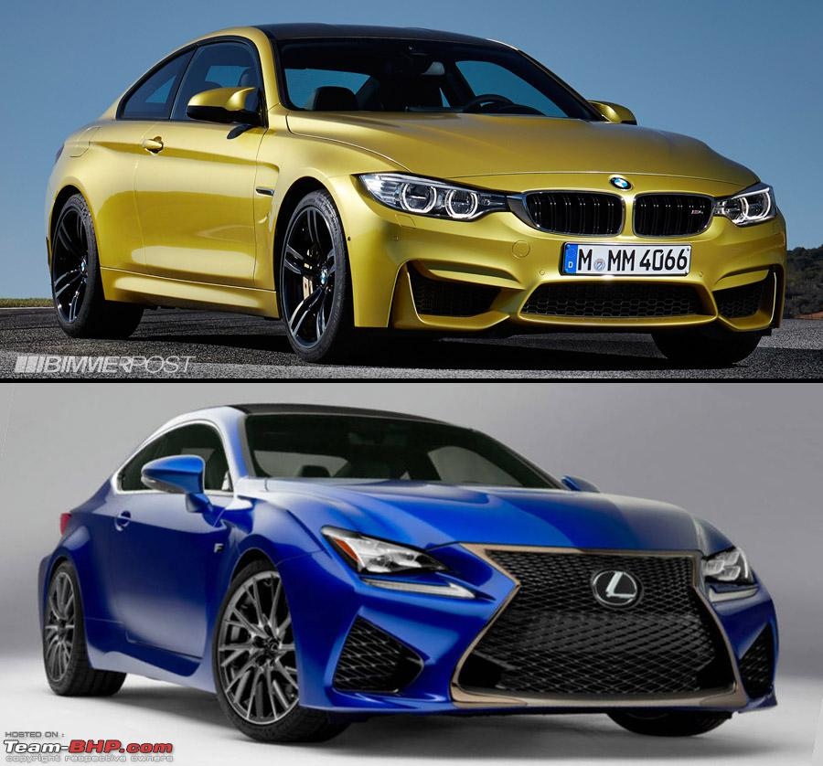 Lexus Performance: Lexus RC F Performance Coupe: 460 BHP V8 & BMW M4 Rival