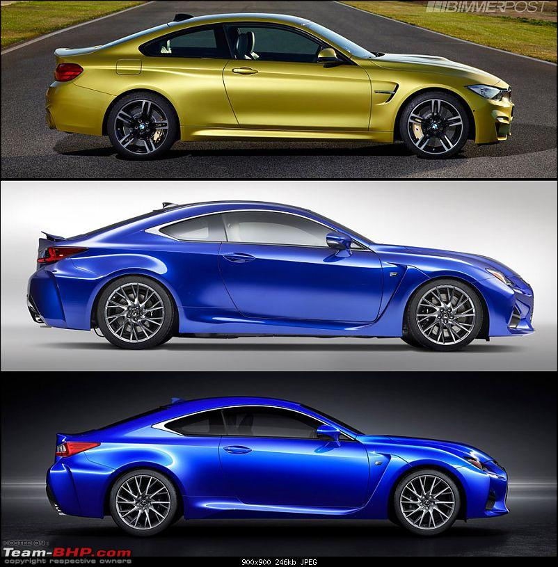 Lexus RC F Performance Coupe: 460 BHP V8 & BMW M4 Rival-3.jpg