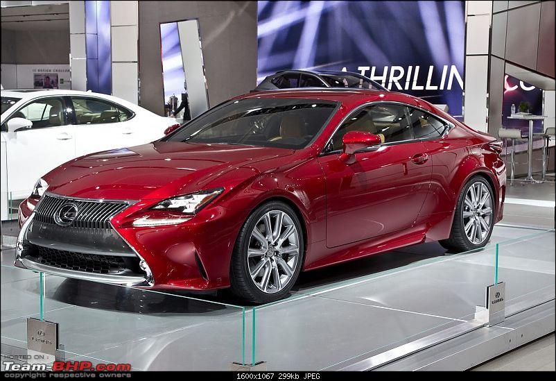 Lexus RC F Performance Coupe: 460 BHP V8 & BMW M4 Rival-lexusrc35052.jpg