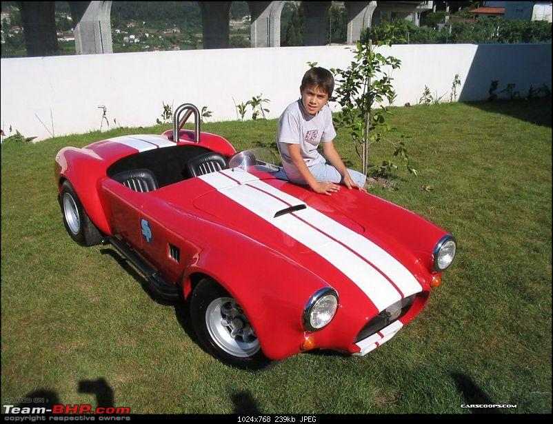 Father's gift to his son: Driveable Shelby Cobra toy car-scaletoycobra38.jpg