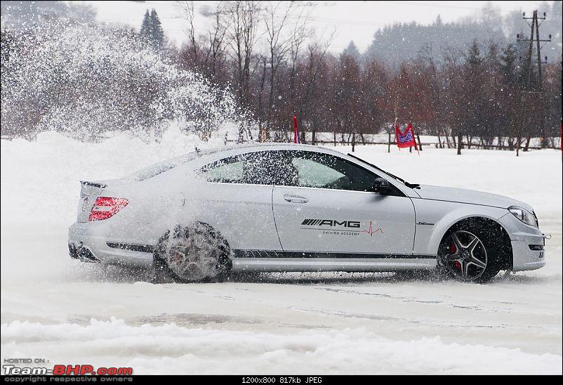 Mercedes-AMG Driving Academy, Austria: With the C63, A45 & CLA45 in Snow!-c6301.jpg