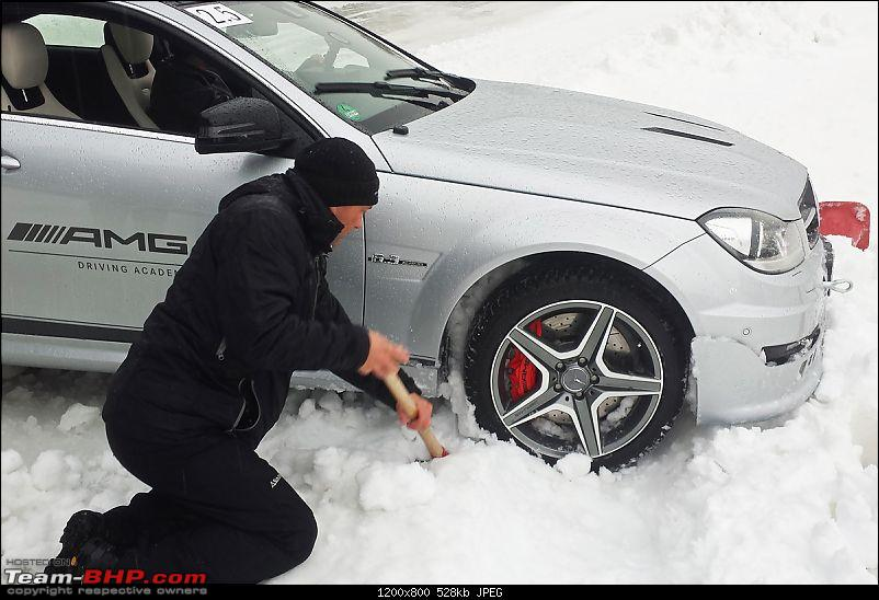 Mercedes-AMG Driving Academy, Austria: With the C63, A45 & CLA45 in Snow!-20140219_141233.jpg