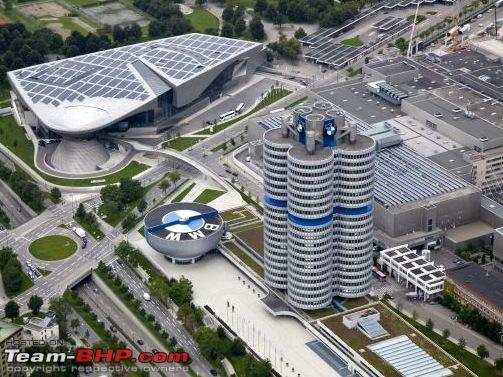 Bmw Museum Munich >> Photologue Bmw Welt Museum And Plant Munich Team Bhp