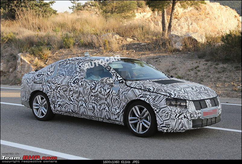 Spy shots: Next-gen 2015 VW Passat spotted for the 1st time-2015volkswagenpassat000001.jpg