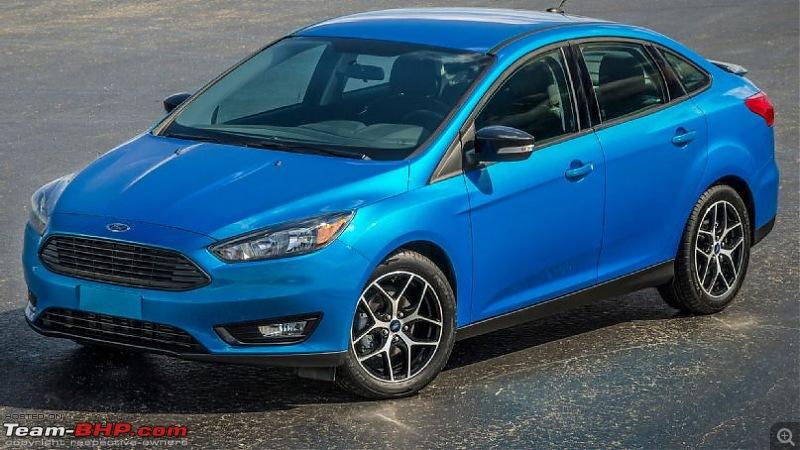 New York International Auto Show: 18th - 27th April, 2014-2015fordfocussedanfrontsidestaticview.jpg