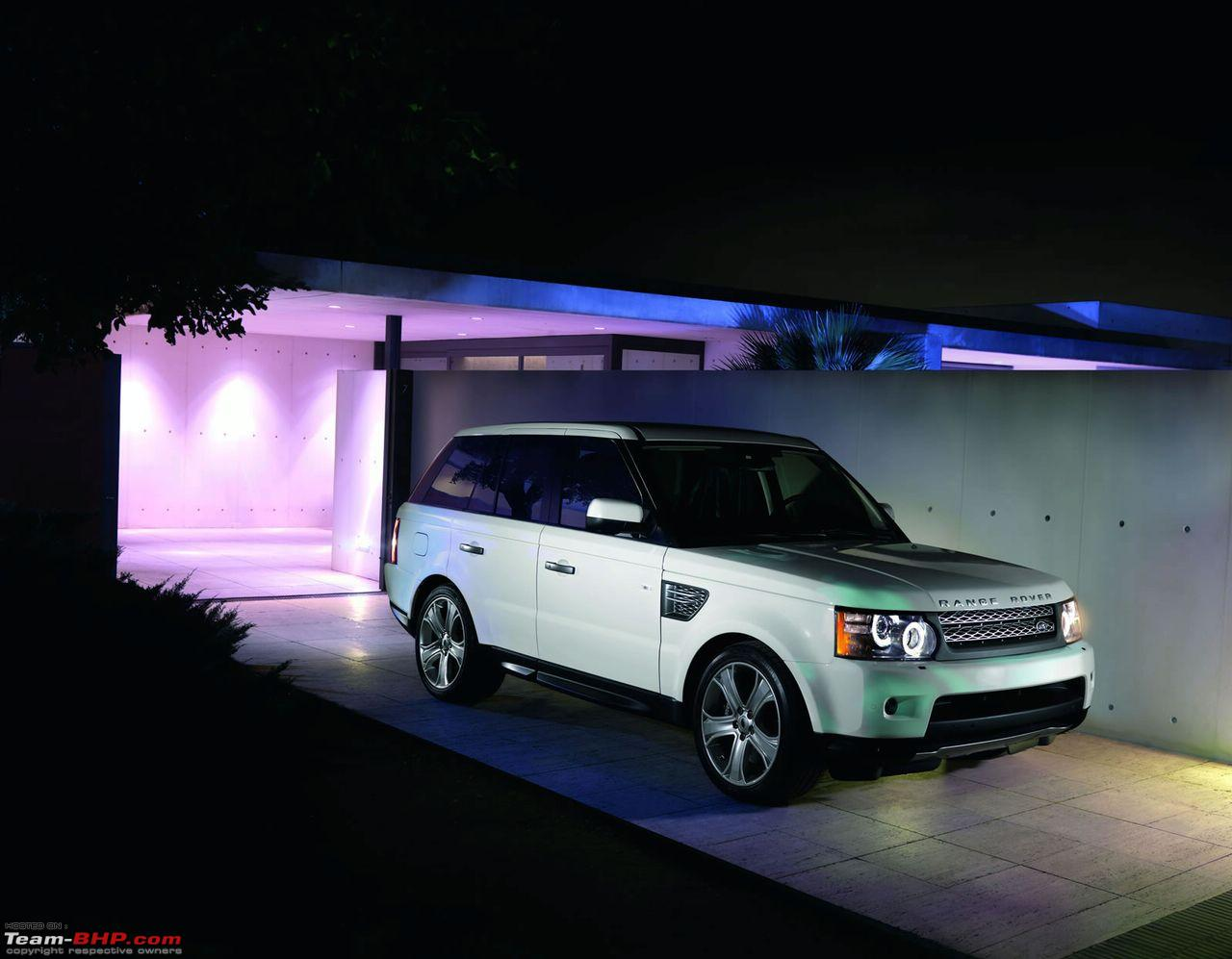 land rover unveil 2010 range rover sport with all new 510hp v8 engine team bhp. Black Bedroom Furniture Sets. Home Design Ideas