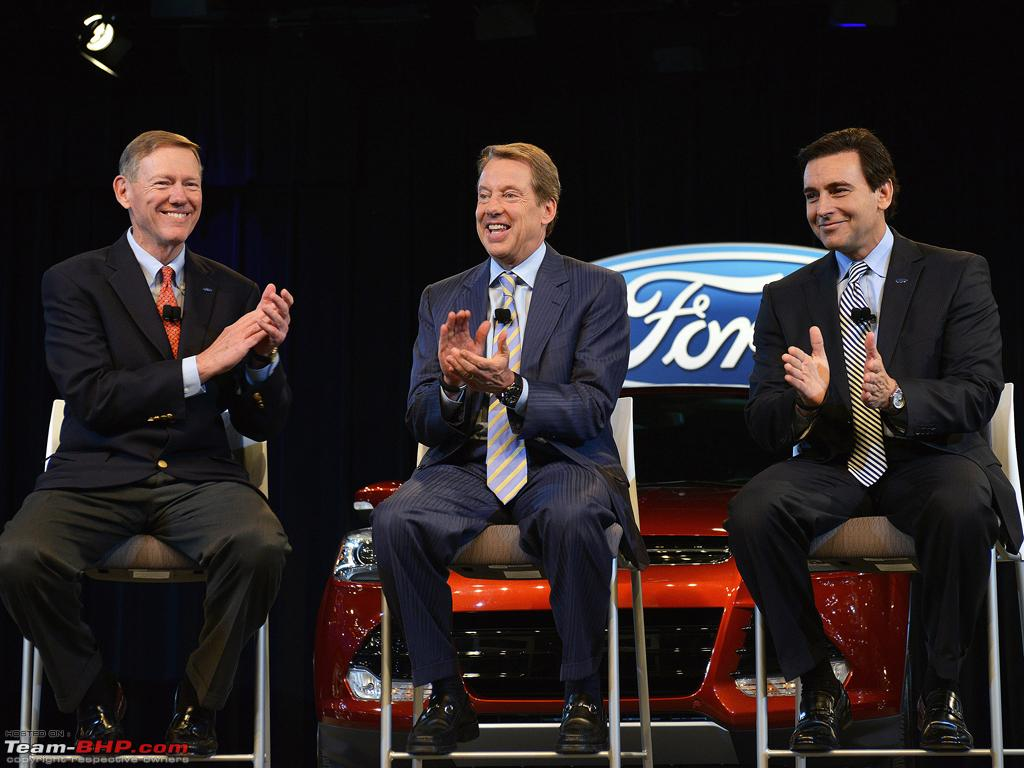 Team bhp mark fields to succeed alan mulally as ford for Ford motor company executives