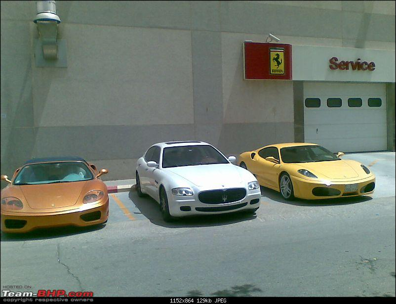 Riyadh: Ferrari showroom, Drift event and generally fooling around-behind.jpg <br /> <a href=