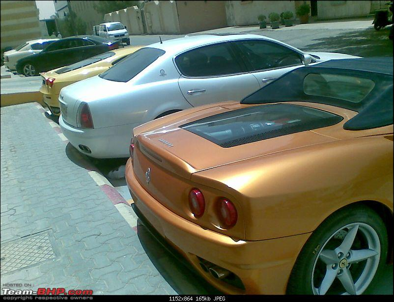 Riyadh: Ferrari showroom, Drift event and generally fooling around-behind2.jpg <br /> <a href=