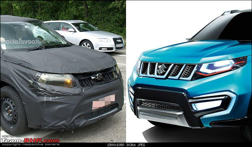 Next-generation Suzuki Vitara Caught. EDIT: Now Launched