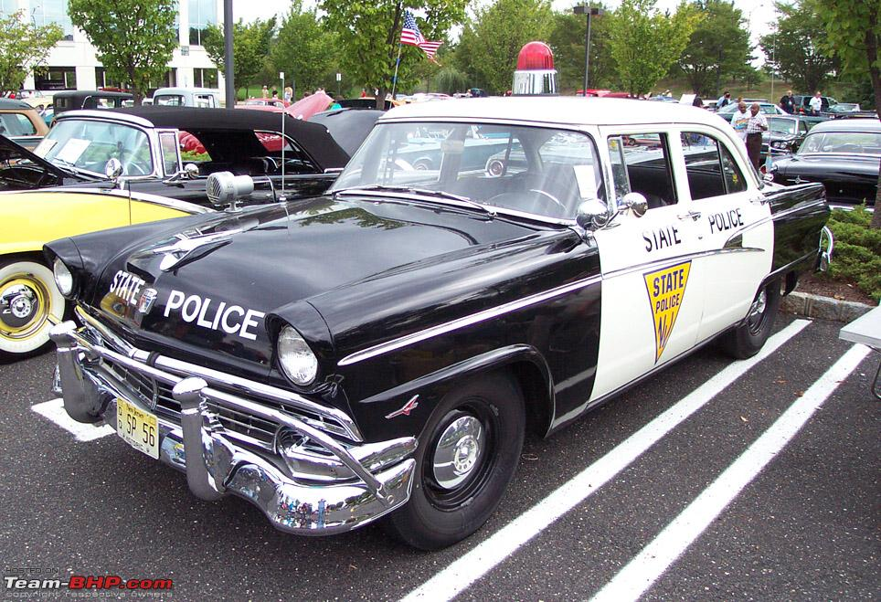 but some old police cars