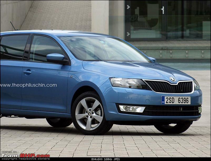 Next-generation Skoda Fabia caught testing-skodafabia2014.jpg