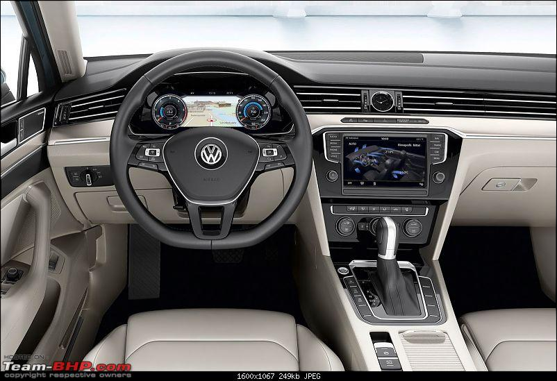 Spy shots: Next-gen 2015 VW Passat spotted for the 1st time-2015vwpassatb813.jpg
