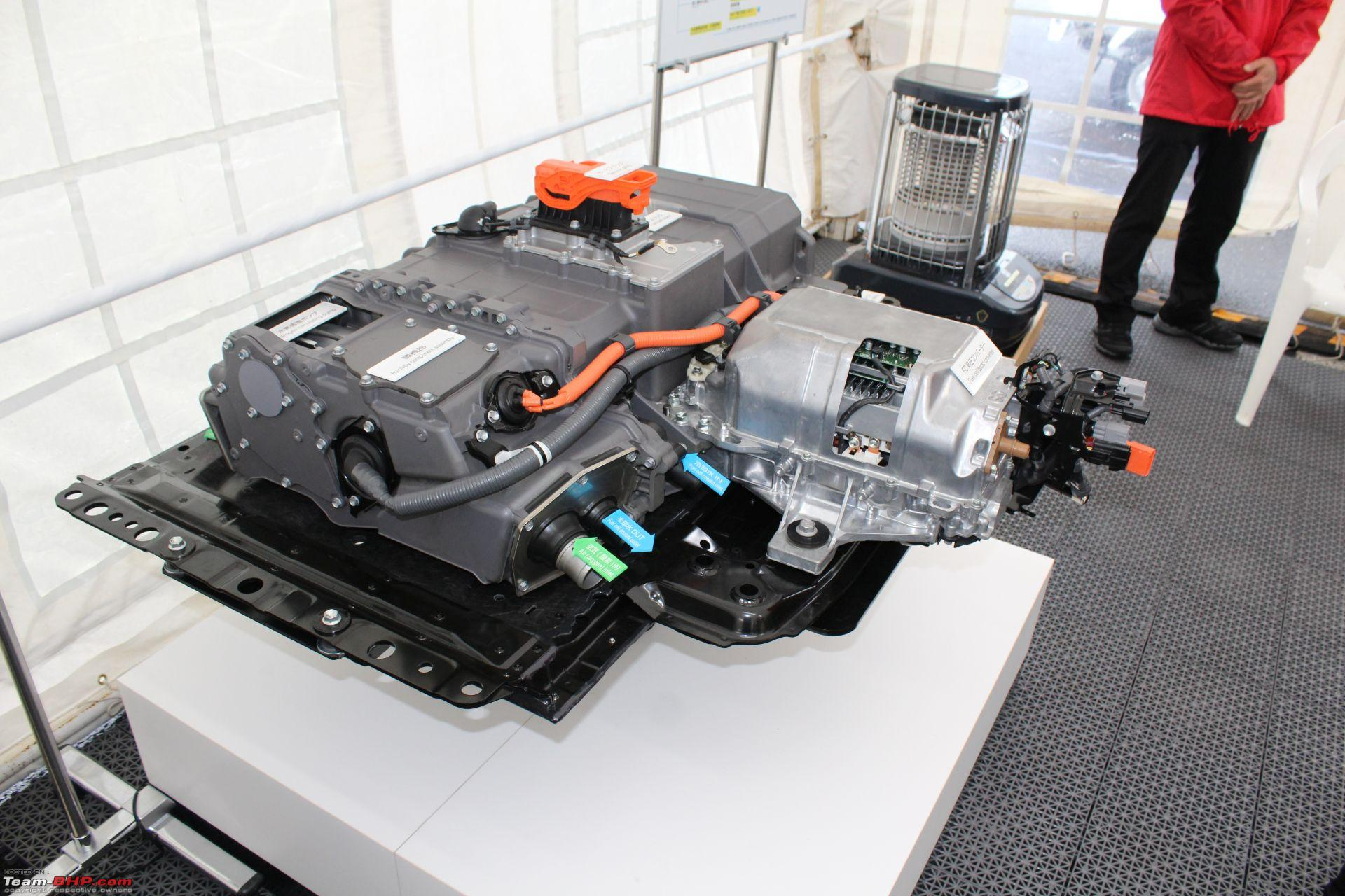 An Report Toyota Mirai Hydrogen Fuel Cell Car And S Safety Technology