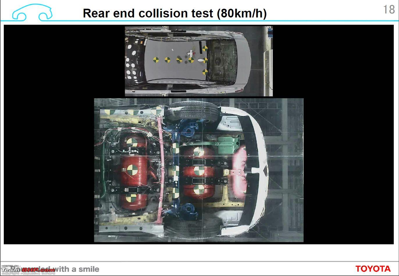 An Report Toyota Mirai Hydrogen Fuel Cell Car And S Safety Technology Crash