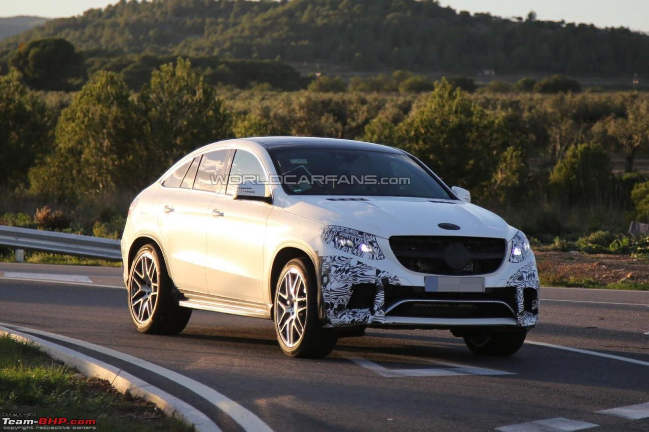 2015 mercedes gle caught testing will rival bmw x6 team bhp. Black Bedroom Furniture Sets. Home Design Ideas