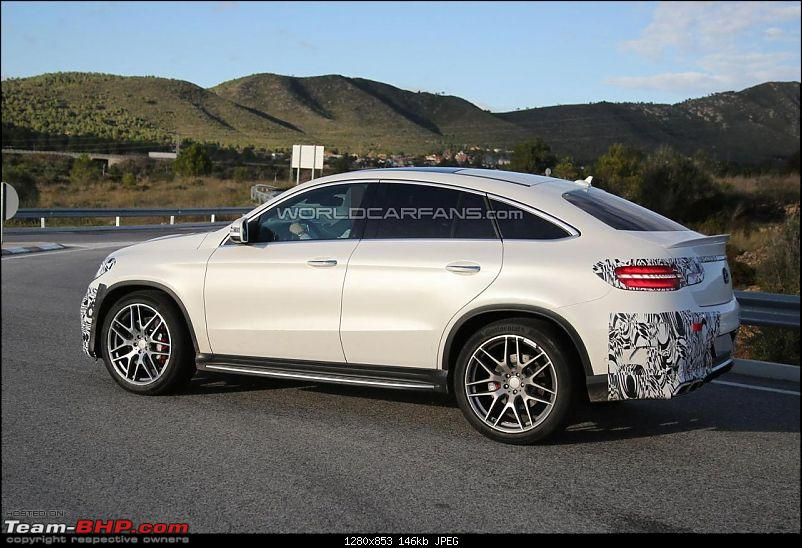 2015 Mercedes GLE caught testing, Will rival BMW X6-9328581671240317236.jpg