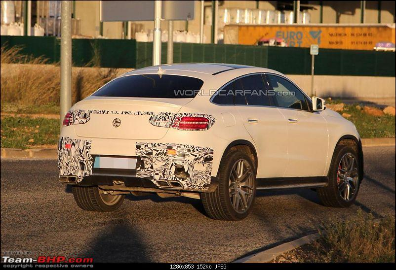 2015 Mercedes GLE caught testing, Will rival BMW X6-18038828102004613918.jpg