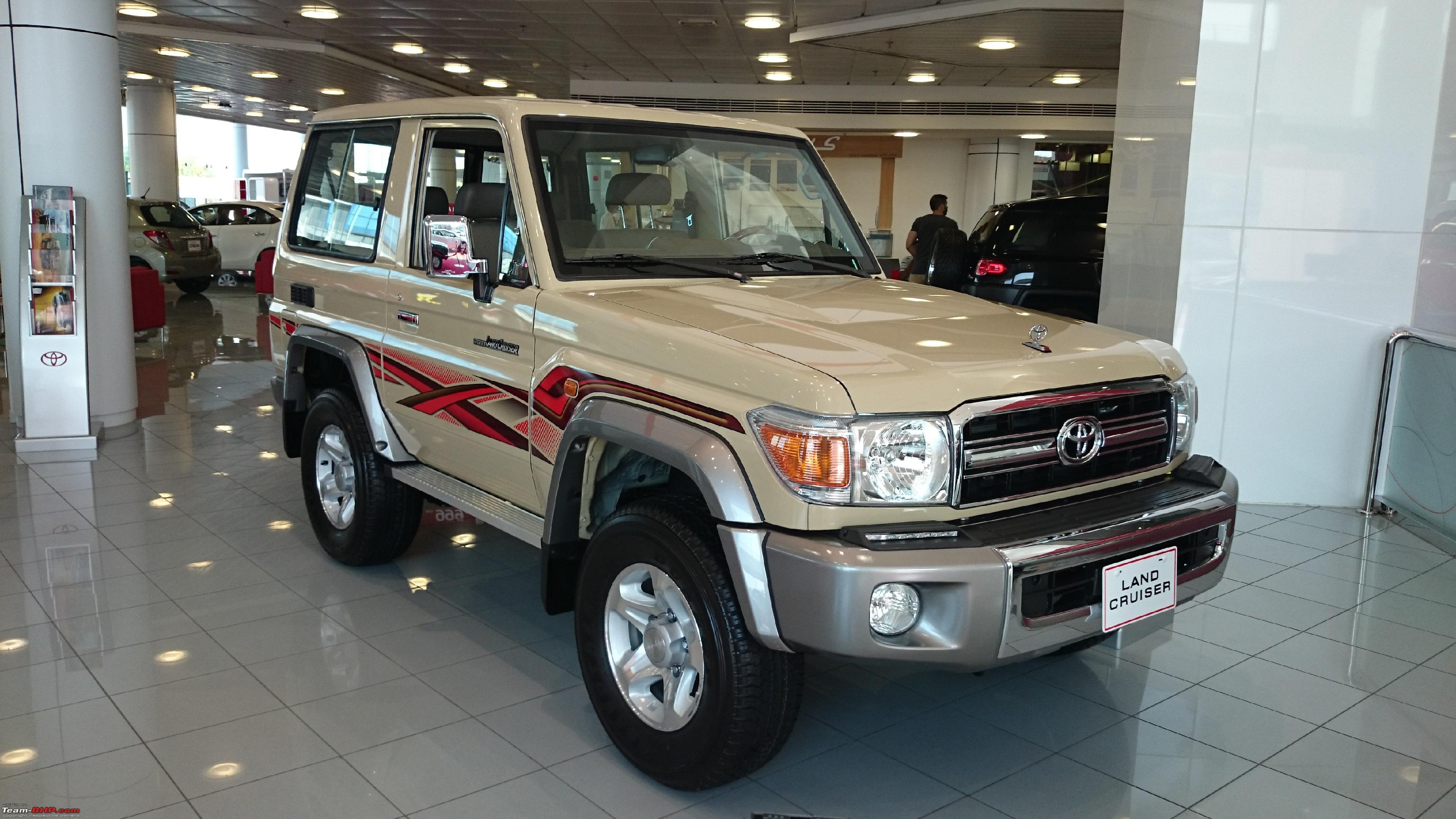 Toyota j70 land cruiser relaunched lc70 jpg