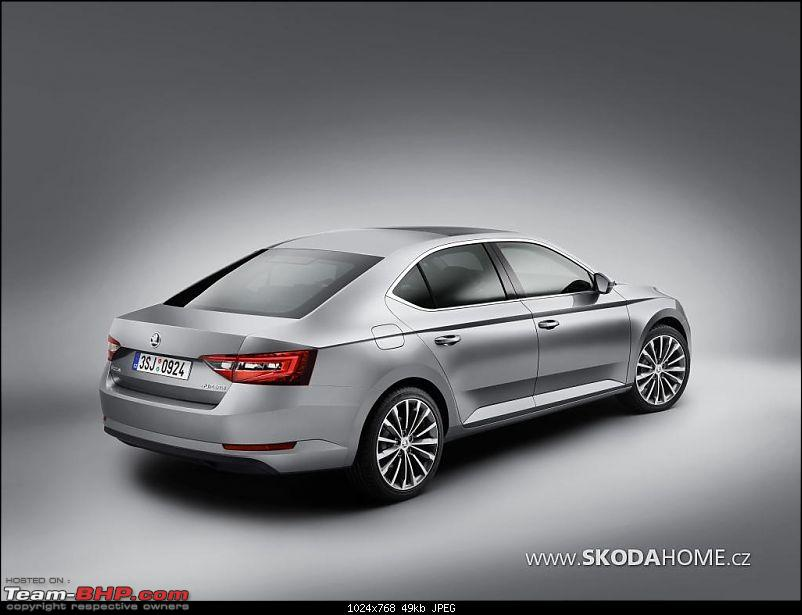 The next-gen 2015 Skoda Superb-firstofficialphotoof2015skodasuperbleaked_7.jpg