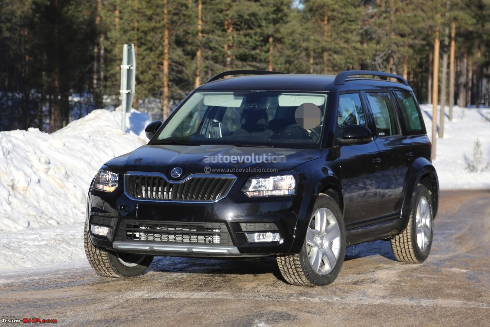 skoda polar suv rival to duster ecosport is coming. Black Bedroom Furniture Sets. Home Design Ideas