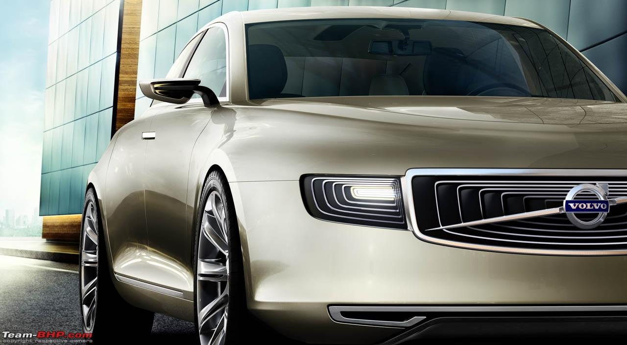 Volvo S90 to replace the S80; launch likely in 2015 - Team-BHP