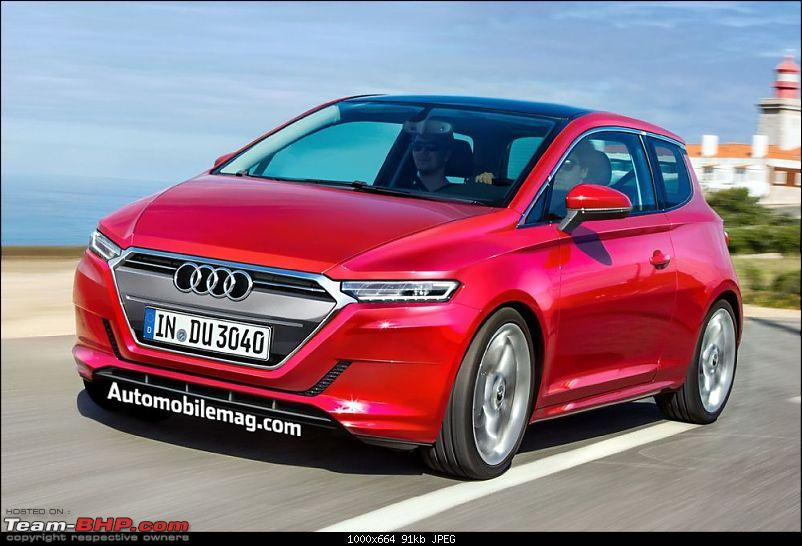 Rumour: Audi's new City Car to rival Mini Cooper & Fiat 500-audiducaticitycarrenderingfrontthreequarter.jpg
