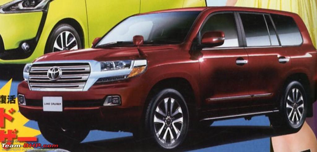 2016 toyota land cruiser pics leaked edit launched in india at rs 1 29 cr team bhp