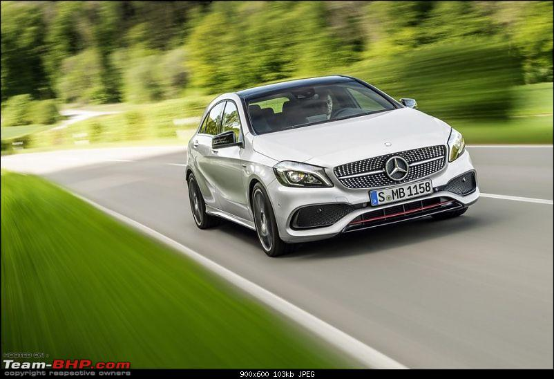 Mercedes A-Class facelift spotted testing in Sweden-2016mercedesaclassamglinefaceliftfrontquarterrevealedpressimage900x600.jpg