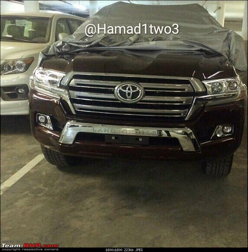 2016 Toyota Land Cruiser - Pics leaked. EDIT: Launched in India at Rs 1.29 cr-2016toyotalc1.jpg