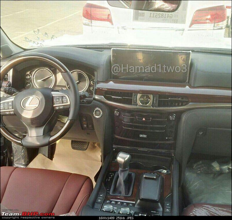 2016 Toyota Land Cruiser - Pics leaked. EDIT: Launched in India at Rs 1.29 cr-2016lexuslx2.jpg
