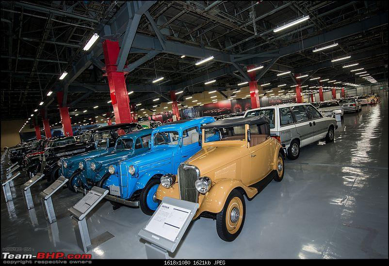 Through an Enthusiast's eyes : A visit to Nissan-Datsun Headquarters & Technical Center, Japan-museum1.jpg