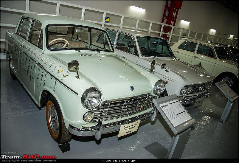 Through an Enthusiast's eyes : A visit to Nissan-Datsun Headquarters & Technical Center, Japan-museum8.jpg