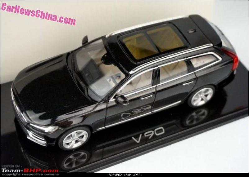Scale model reveals Volvo V90's design-2.jpg