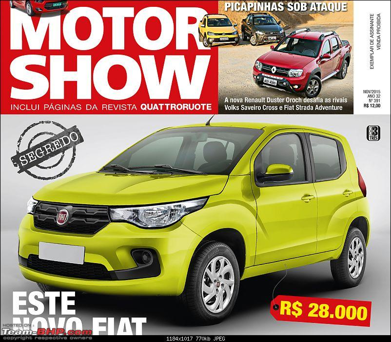 Fiat's entry level hatchback - The X1H. Brazil launch in 2016-fiatx1hmotorshow.jpg