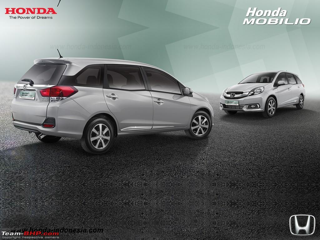 Indonesia: Updated Honda Mobilio launched; gets all-new ...